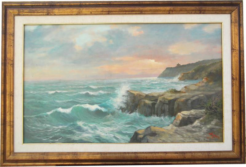 Castel Sonnino 60x100 olio/tela codice 049