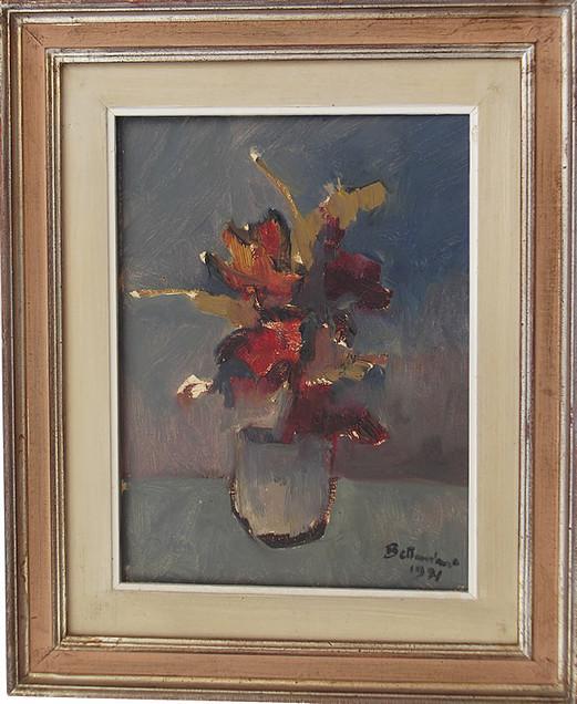 Fiori (1971) 30x40 olio/tela codice 069