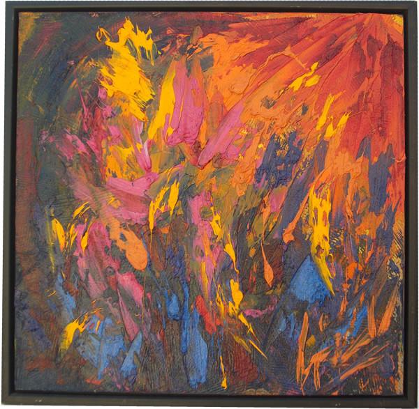 La forza nel colore 50x50 olio/tela codice 0166